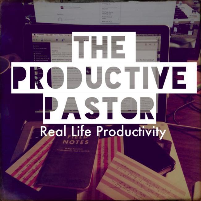Productive Pastor