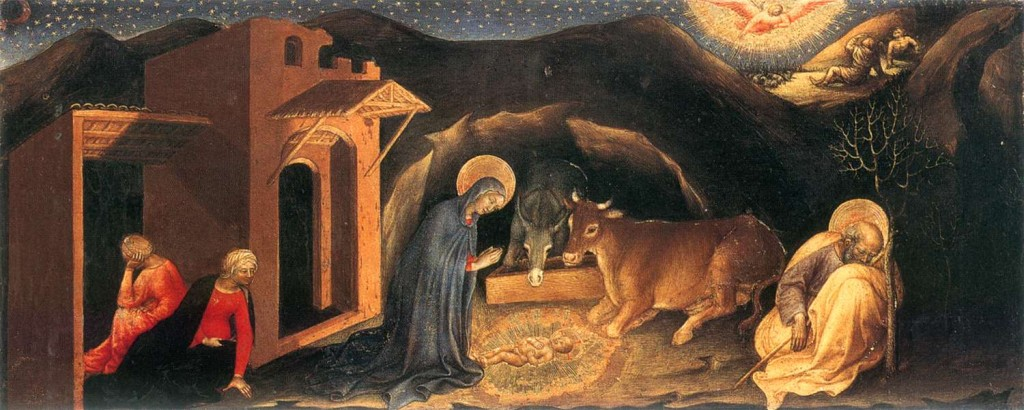 """""""Nativity"""" - Gentile da Fabriano"""